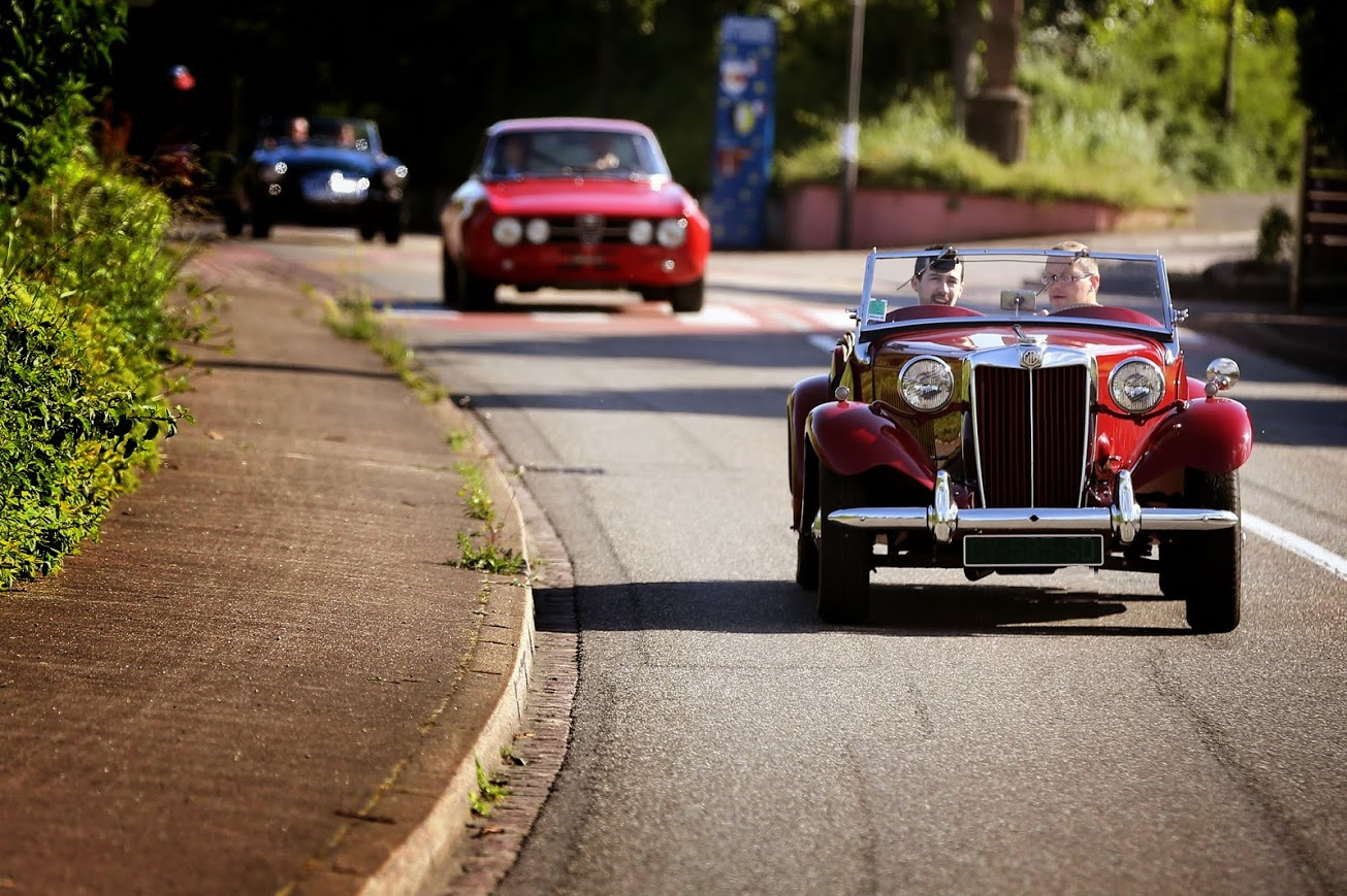 Vintage Car Rally Luxembourg
